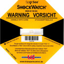 ShockWatch L-65, gelb, 25 g / 50 ms