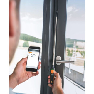 testo 405 i Thermo-Anemometer mit Smartphone-Bedienung