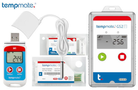 tempmate Cold Chain Datenlogger